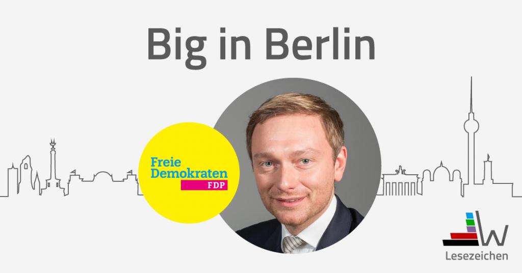 wahl.de FDP Christian Linder Aufstreber