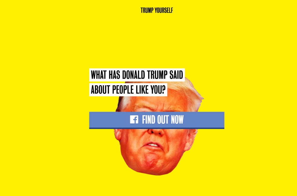 Trumpyourself Clinton US Election
