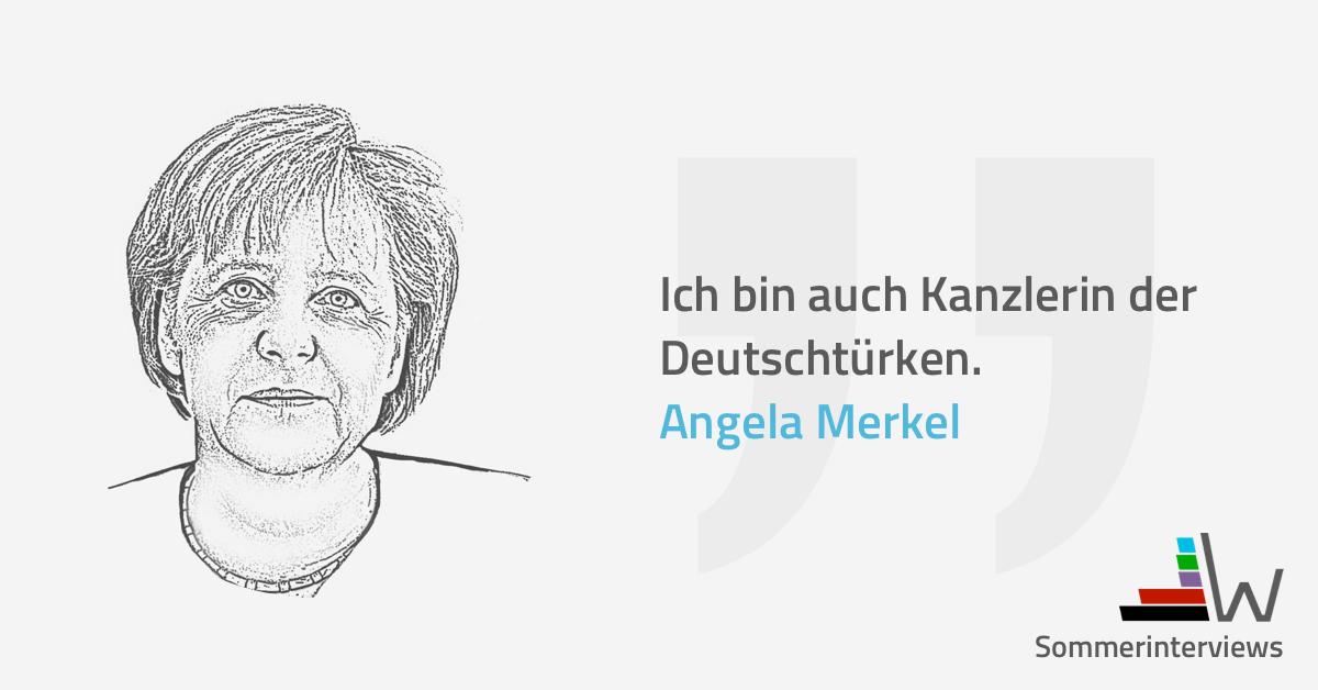 wahl.de Merkel Sommerinterview