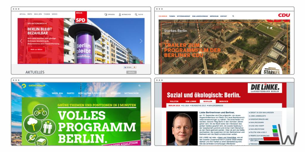 wahl.de AGH Parteienwebsite
