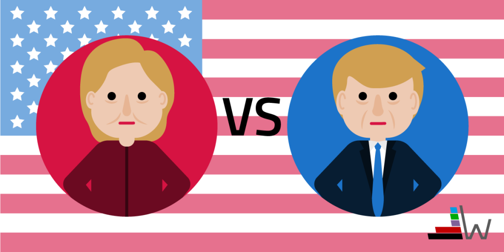 wahl.de tv-duell clinton trump
