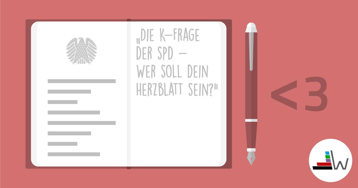 Unter drei - Wer wird SPD-Kanzlerkandidat?