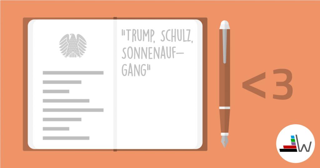 Unter drei - 16: Trump, Schulz, Sonnenaufgang